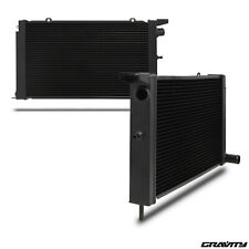 47MM BLACK EDITION ALLOY RADIATOR RAD FOR FORD ESCORT RS TURBO SERIES 2 86-90