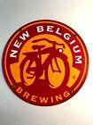 New Belgium Brewing Metal Sign Fat Tire Bicycle Breweriana Garage Man Cave