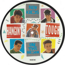 "New Kids On The Block ‎– Hangin' Tough. 7"" Picture Disc. Mint"