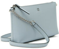 Kate Spade Declan Chain Crossbody Blue Smooth Leather WKRU6081 NWT $248 Retail