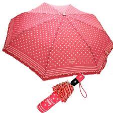 Ombrello Moschino Rosa corallo con pois Openclose Umbrella