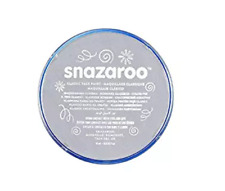 Snazaroo Face Paint 18ml (Light Grey)