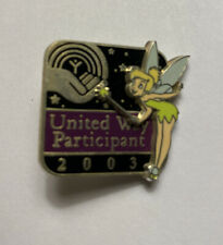 Disney Pin Tinker Bell 2003 United Way Participant