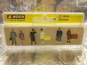 ** Noch 15219 Passengers (6 figures in the pack) Figure Set 1:87 Scale