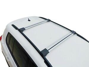 Alloy Roof Rack Slim Cross Bar for Renault Koleos 2008-15 H45 Lockable