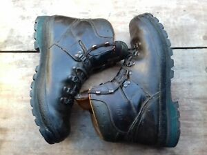 MEINDL BORNEO mens leather walking boots size UK12 brown