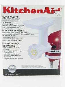 New! KitchenAid Pasta Maker Food Grinder Attachment SNFGA, Complete Set!