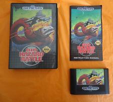 Bio-Hazard Battle (Sega Genesis, 1992) COMPLETE w/ Box manual WORKS! Biohazard