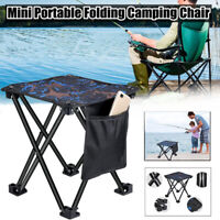 Folding Fishing Stool Chair Small Seat Collapsible Camping Seats  Hiking  Stool