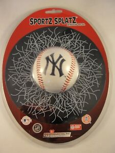 New York Yankees MLB Sportz Splatz Baseball Window Decal