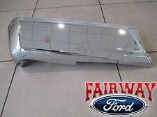 15 thru 18 Ford F150 OEM Genuine Ford Rear Chrome Step Bumper w/ Prox Sens LEFT