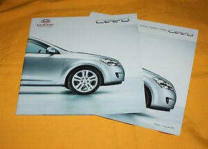 Kia Cee´d 2007 Prospekt Brochure Depliant Prospetto Prospecto Catalog Folder