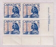 VC941 CANADA #390 PLATE BLOCK OF STAMPS MINT OG NH BIG DISCOUNT ON S&H 4-40 LOTS