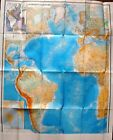 Vintage+Soviet+Wall+Map+Atlantic+Ocean+Moscow+1981+M+1%3A20+000+000