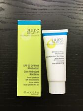 NIB Juice Beauty Organic Solution SPF 30 Oil-Free Moisturizer Full Sz 2floz/60ml