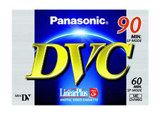 Panasonic 90 LP 60 SP DVC Mini DV Digital Video Cassette Dvm60 X 4 &