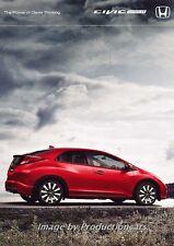 2014 Honda Civic Hatchback 32-page Australia Car Sales Brochure Catalog