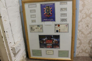 1966 World Cup Winners England Full Team Signatures