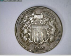 1869 Two Cent 2c ( 9-319 5M/o )