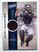 2017 Panini GARY SANCHEZ Rare GAME JERSEY CARD BB13 New York Yankees SILVER PACK
