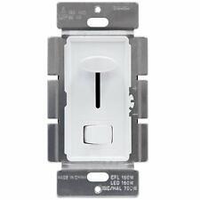 ENERLITES Decorator Slide Dimmer Switch 150W LED CFL 700W Incandescent