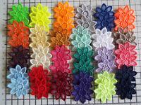 """5pcs -  Embroidery Guipure Lace Flower Motif-Applique,Wedding, Patch - 4cm - """"1"""""""