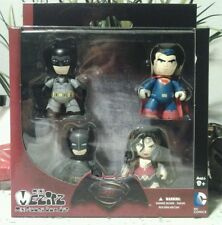 MEZCO TOYZ Mini Mez-itz Batman Vs. Superman 4 pack Wonder Woman Armored Batman