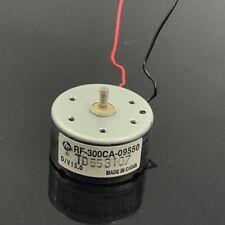 MABUCHI RF-300C-09550 D/V 13.0 Round 24mm DC 6V-12V Audio CD DVD Spindle Motor