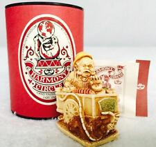 1995 Harmony Kingdom Circus Mr Sediment'S Superior Victuals Box Figurine Mib