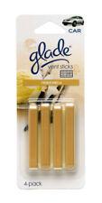 Glade Vent Sticks Car and Home Air Freshener, French Vanilla Scent (4 Sticks)