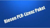 PLR Megapack  PLR Lizenz wiederverkäufer für Master MRR R4R R4E und E Lizenzen