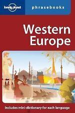 Western Europe: Lonely Planet Phrasebook ( Karina Coates ) Used - VeryGood