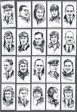 1935 Lambert & Butler's Famous Britis 0000241C h Airmen & Airwomen Tobacco Cards Complete