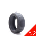 Set Of 2 Used 24540zr18 Michelin Pilot Sport As 3 Plus 97y - 5-5.532