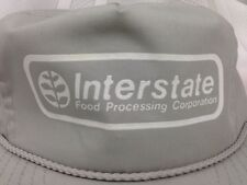 VTG Interstate Food Processing Corp Hat Snapback Farming Advertising Boise ID