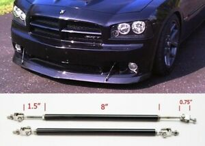 """Black 8"""" Adjustable Rod Support for Toyota Scion  Bumper Lip Diffuser Spoiler"""