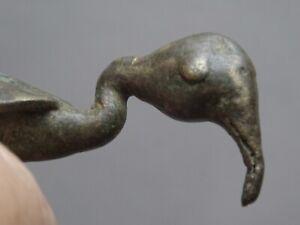 Gewicht Mit Abwiegeschaufel L' Gold Ashanti Akan Baoule Wax Lost Tier Bird
