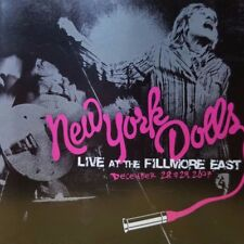 NEW YORK DOLLS - LIVE AT THE FILLMORE EAST 12/28/07 - SONY / BMG - SEALED CD