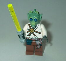 STAR WARS #44 Lego Rodian Jedi w/lightsaber NEW Custom Genuine Lego Parts Wald