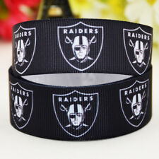 50yards 22mm Oakland raiders Sport team ball printed Grosgrain Ribbon party