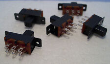 2K100 5 x Mini DPDT On-Off Slide Switch Ideal for Model Railway/Railroad Use 2nd