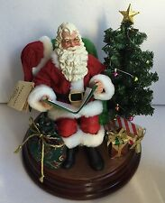 "Kurt Adler Fabriche Santa Visit From St. Nick – Talks 9"" Tall"