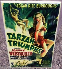 """Tarzan Triumphs Movie Poster 2"""" x 3"""" Refrigerator Locker MAGNET"""