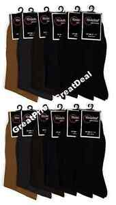 12 Pairs Men's Multi-Color Size 10-13 Dress Socks Free Fast Domestic Shipping!!