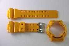 CASIO GA-100A-9A Yellow New G-Shock Original BAND & BEZEL Combo GA-100