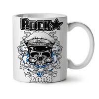 Rock Music Death Skull NEW White Tea Coffee Mug 11 oz | Wellcoda