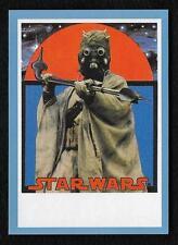 2017 Topps Star Wars 1978 Sugar Free Wrappers TUSKEN RAIDER Blue #30/75