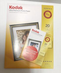 Kodak ULTRA Premium A4 & 4x6 Photo Paper Sheets High Gloss 280gsm 250microns BN