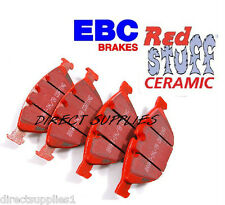 BMW M5 5.0 507bhp E60 E61 FRONT BRAKE PADS EBC RED STUFF (CERAMIC) MADE IN UK