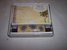 Rolling Pin Recipe Card Holder Set by CounterArt,  New